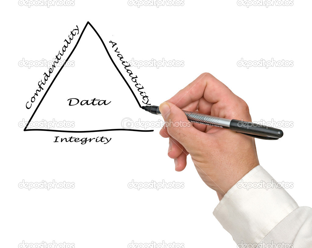 Principles of data management  Stock Photo #14460785