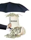 Protection of revenue — Stock Photo
