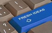 Keyboard with hot keys for idea — Stock Photo