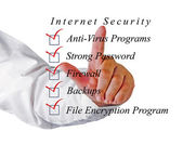 Checklist for internet security — Photo
