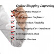Online shopping improving — Stock Photo