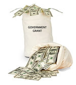 Government grant — Stock Photo