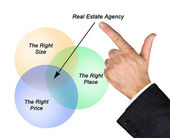 Real estate agent — Stock Photo