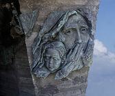 Monument dedicated to Soviet troops at Netanya,Israel — Stock Photo