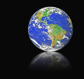 Planet earth.Elements of this image furnished by NASA — Stock Photo