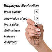 Employee evaluation — Stock Photo