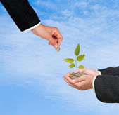 Investire al business verde — Foto Stock