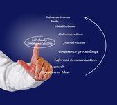 Scholarly Communication — Stock Photo