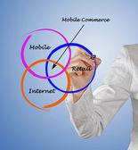 Mobile commerce — Stock Photo