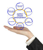 Supply Chain Management — Stockfoto