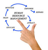 Human resource management — Stock Photo