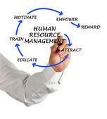 Human ressourcenmanagement — Stockfoto