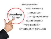 Avoiding stress — Stock Photo