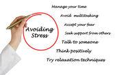 Evitando stress — Foto Stock