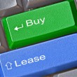 Key for buy and lease — Stock Photo #27541131