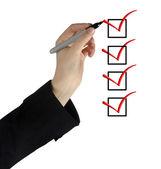 Checklist — Stock Photo