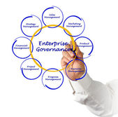 Enterprise governance — Stockfoto
