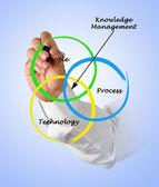 řízení znalostí — Stock fotografie