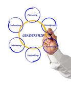 Presentazione della leadership — Foto Stock