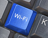 Key for wi-fi connection — Stock Photo