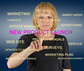 New product launch — Stock Photo