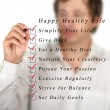 Happy healthy life — Stockfoto