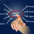 Stock Photo: Diagram of expert system