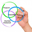 Diagram of success — Stock Photo #29144097