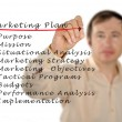 Marketing plan — Stock Photo