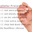 Stock Photo: Diabetes prevention