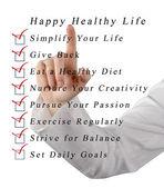 Glückliches, Gesundes Leben — Stockfoto