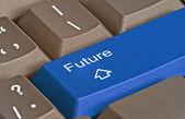 Key for future — Stock Photo