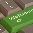 Hot key for wellbeing — Stock Photo