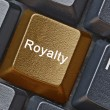 Key for royalty — Stock Photo