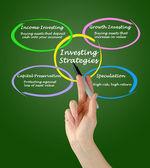 Investing strategies — Stock Photo