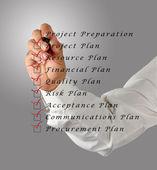 Project preparation — Stock Photo