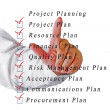 Stock Photo: Project planning