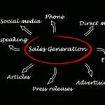 prodejní generace — Stock fotografie