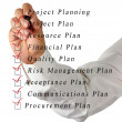 Project planning — Stock Photo