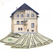 House and money — Stock Photo #33275659