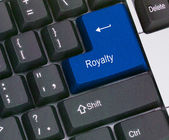 Key for royalty — Foto de Stock