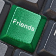 Hot key for friends — Stock Photo