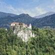 Bled Castle in Slovenia — Stock Photo