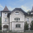 Villa at Slovenia — Stock Photo