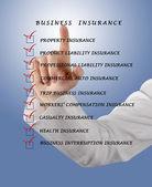 Business insurance — Stock Photo