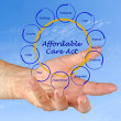 Stock Photo: Affordable care act