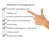 Diabetes management — Stok fotoğraf
