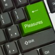 Stock Photo: Hot key for pleasure