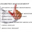 Stock Photo: Diabetes management