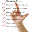 Stock Photo: Managing stress